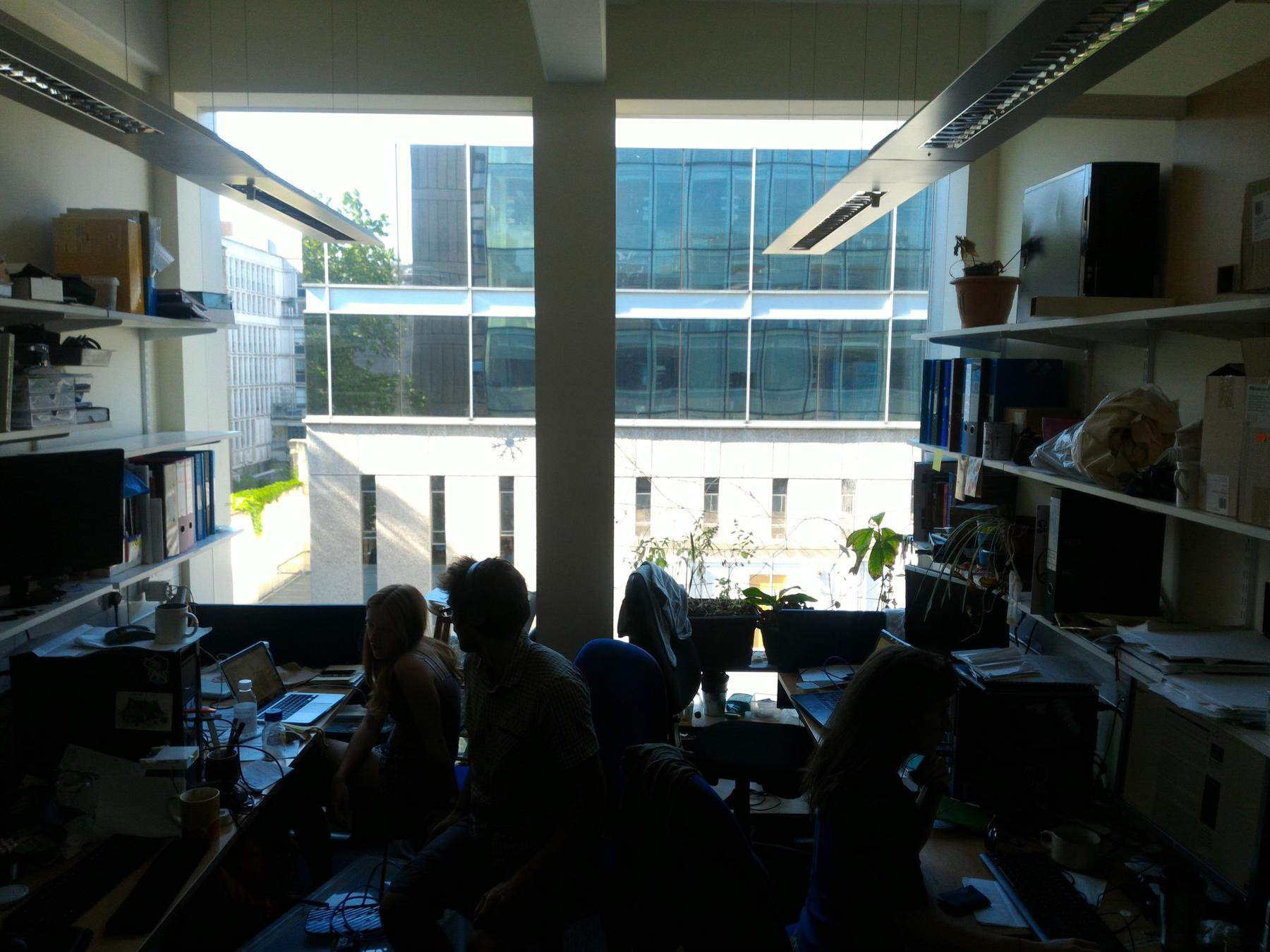 Our office space